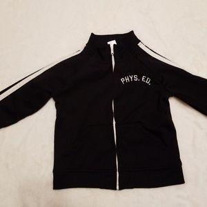 Black Warm Up Old Navy Jacket Toddler Size 3